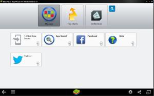 android _bluestacks menu